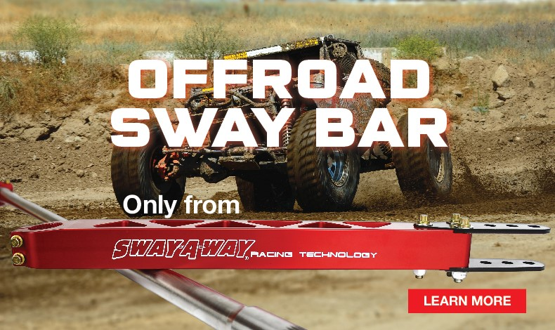 Sway-A-Way Off road Sway Bar Kit